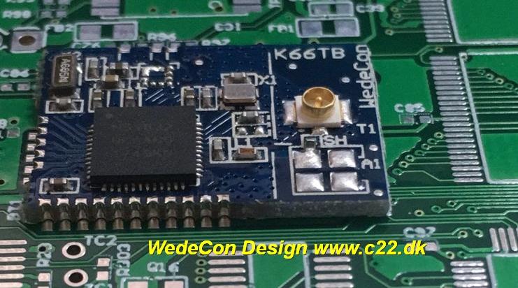Kundetilpasset Bluetooth Tracking Beacon