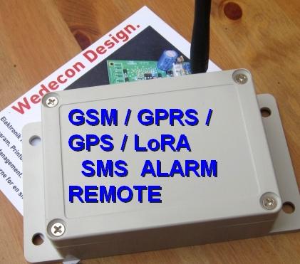 GSM REMOTE SMS ALARM MOUSE MUS TRAP WIFI LORAWAN